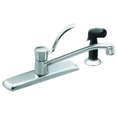 moen kitchen faucets canada moen chrome one handle kitchen faucet home depot canada