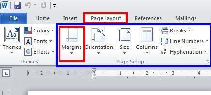 format margin skripsi cara menentukan margin pada microsoft word