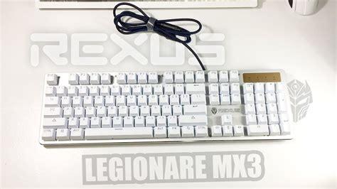 Keyboard Rexus Murah review rexus legionare mx3 mechanical keyboard murce
