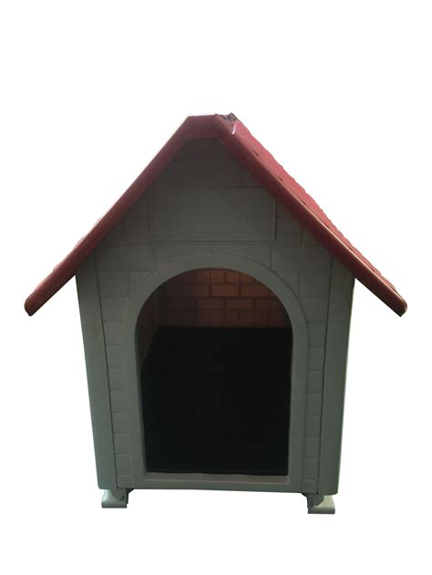 waterproof dog house waterproof outdoor indoor plastic pet puppy dog house shelter kennel 82x56x71 cm ebay