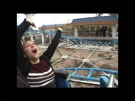 theme park review youtube indiana beach and michigan s adventure amusement park