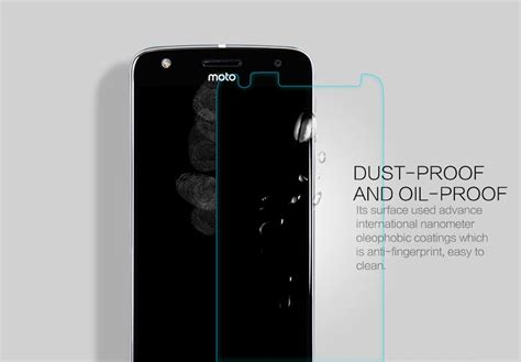Tempered Glass Nillkin Moto Z Amazing H Pro 1 nillkin amazing h pro tempered glass screen protector for