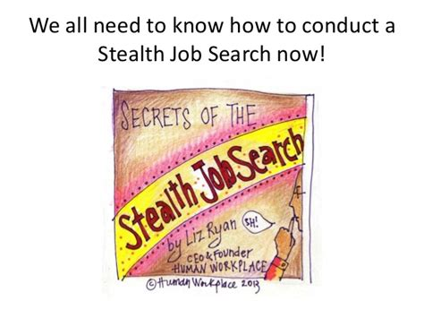 Conducting A Search While Employed We All Need To
