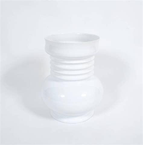 White Floor Vase Large White Ceramic Floor Vase By Sergio Asti 1980 For