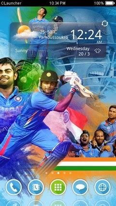 themes for android bollywood indian cricket clauncher theme