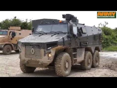renault trucks defense bmx 01 multirole armoured vehicle vbmr program live
