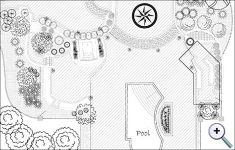autocad layout view black and white landscape design software realtime landscaping architect