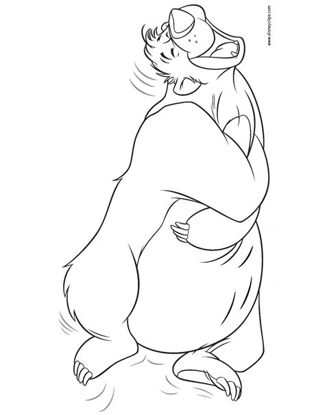 jungle book characters coloring pages the jungle book coloring pages disney coloring book