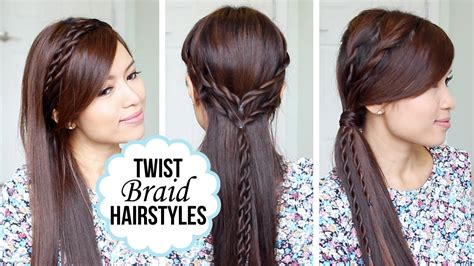 hairstyles quick n easy quick and easy hairstyles with a twist youtube