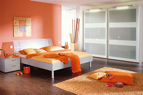 d 233 co chambre adulte orange