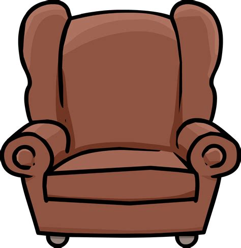 cartoon armchair book room arm chair club penguin wiki fandom powered