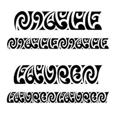 tribes lettere of niall maorigrams custom
