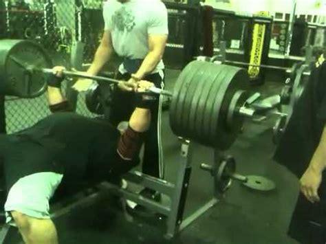 raw bench press program eric spoto 315kg raw bench press all things gym