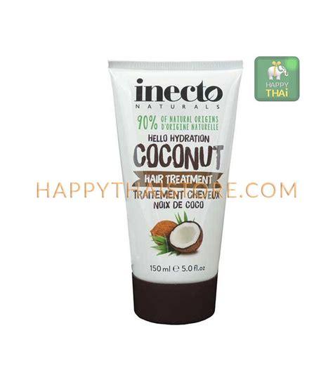 hydration hair treatment inecto naturals hydration hair treatment coconut 150 ml