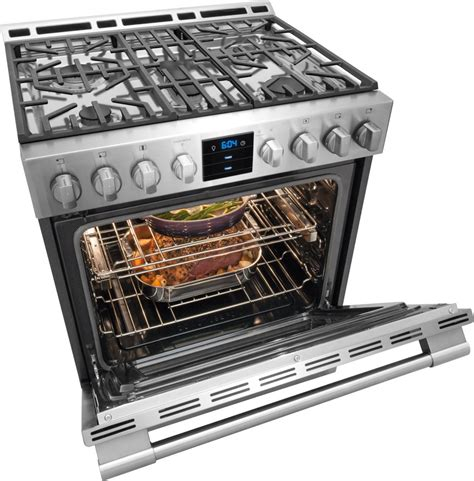 Oven Gas 1 Pintu fpgh3077rf frigidaire professional 30 quot gas range stainless steel
