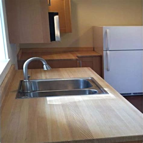 douglas fir butcher block countertop side grain