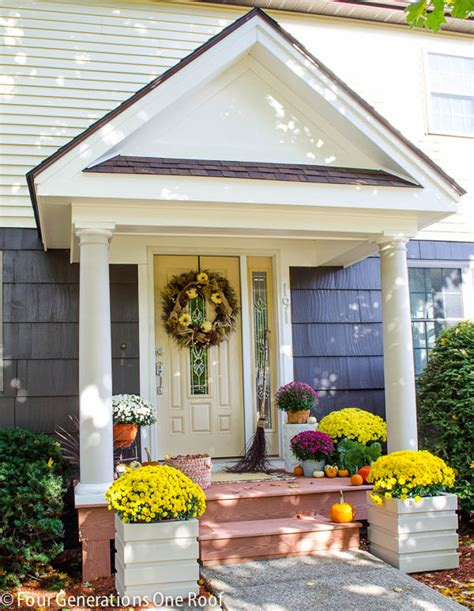 how to add curb appeal with a portico four generations one roof our portico reveal curb appeal four generations one roof