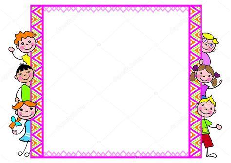formato cornici cornice decorativa con bambini per diplomi formato di