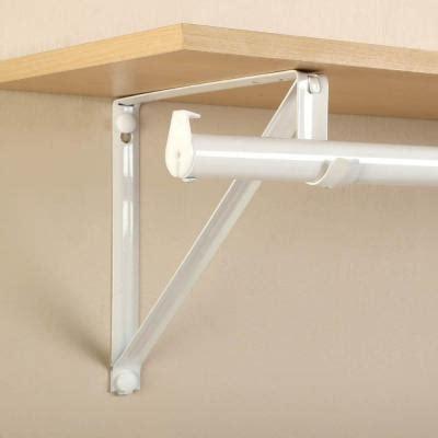 Shelf With Closet Rod by Upc 077355400458 Closet Pro 10 In X 3 4 In White Shelf