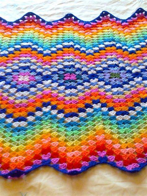 granny zig zag crochet pattern pretty i love how this has the diamond shape and then