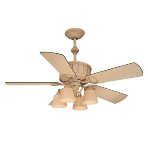 cottage ceiling fan hton bay torrington 52 in cottage wood ceiling fan