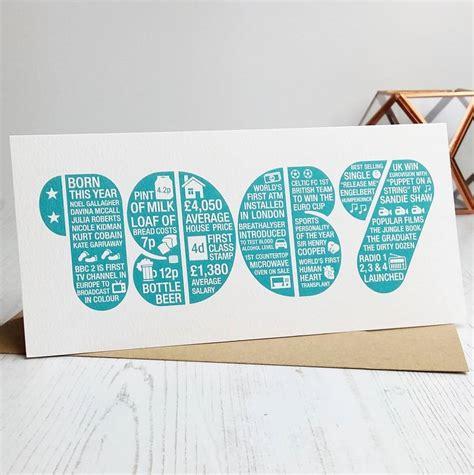 In 50th Birthday Card 50th Birthday Card By Intwine Design Notonthehighstreet Com