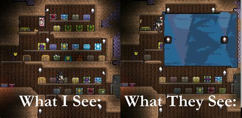Terraria Furniture by Console The Various Glitches Of Console Terraria
