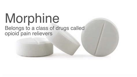 Morphine Detox by Morphine Withdrawal And Morphine Detox