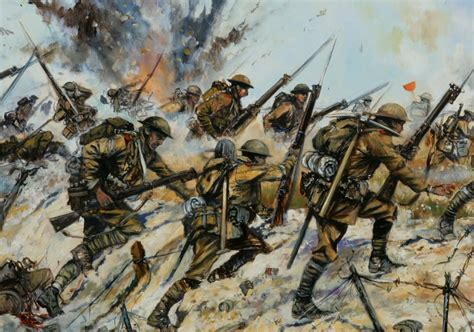 world war one military paintings by jason askew