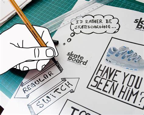 Sticker Zum Aufbügeln Selbst Gestalten by How To Sticker Selber Machen Skateboard Msm