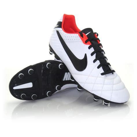 nike tiempo mystic iv fg mens football boots white