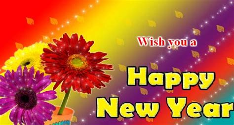 happy new year flower happy new year flower greetings free flowers ecards