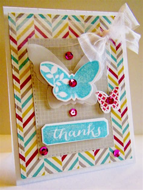 easy to make thank you cards my princess card designs butterfly thanks cards