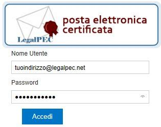 interno webmail webmail legalpec net per controllare la tua posta