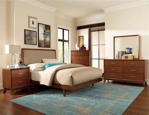 light cherry bedroom furniture 2278 soren bedroom set by homelegance in light cherry