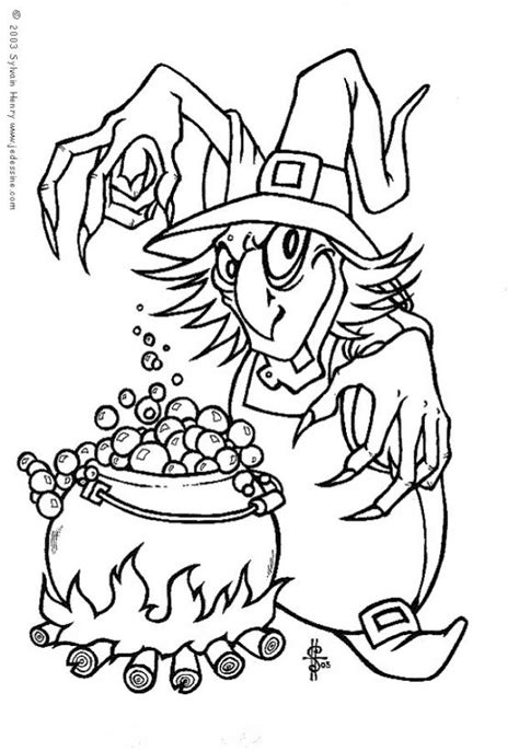 witch coloring pages witch s magic elixir az