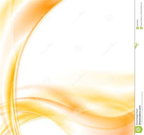 bright orange vector smooth waves stock vector