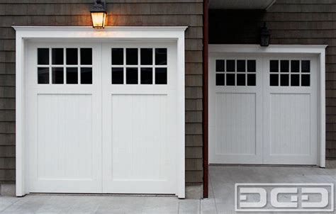 Craftsman Style Garage Doors by Custom Garage Door Designs In A Traditional Craftsman