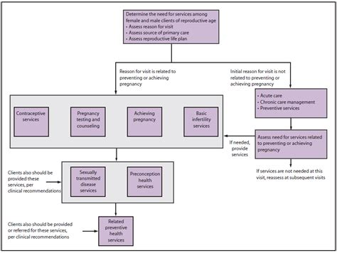 care pathway template providing quality family planning services
