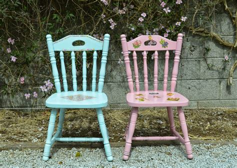 Upcycled Chairs by Diy Upcycled Chairs Shabby Chic Inspired Fawns Fables