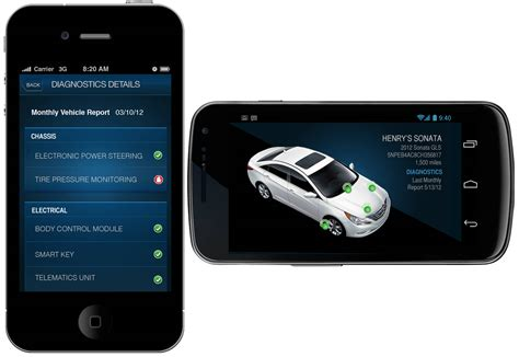 hyundai blue link telematics system you locked the key inside the car need to send emergency