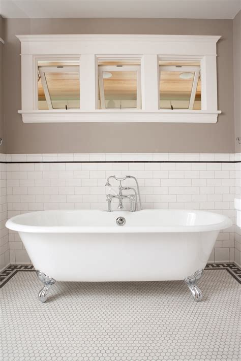 Clawfoot Tub Traditional Bathroom | saltillo tile home depot traditional style for bathroom
