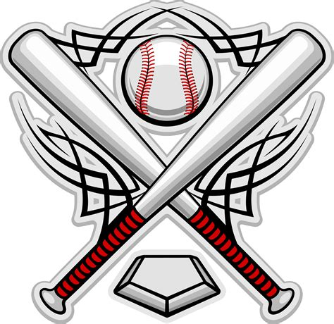 baseball logo template printable baseball template clipart best