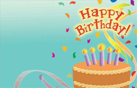 Happy Birthday Ppt Background Powerpoint Backgrounds For Birthday Card Powerpoint Template