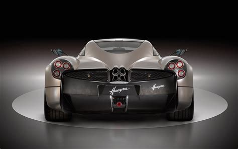 pagani back pagani huayra rear end photo 4