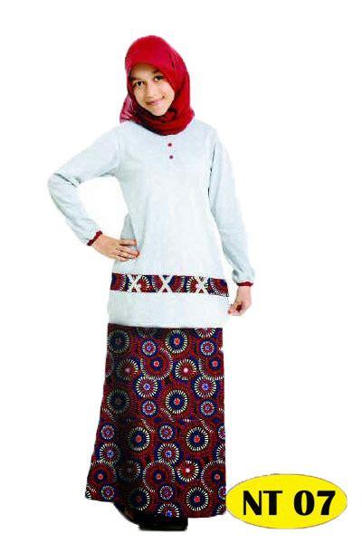 Baju Muslim Stelan Katun Remaja Xssm Nibras 23 nibras nb nt07 katalog busana muslim