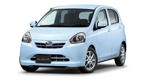Kei Cars In America by Subaru Unveils Pleo Kei Car In Japan Autoevolution