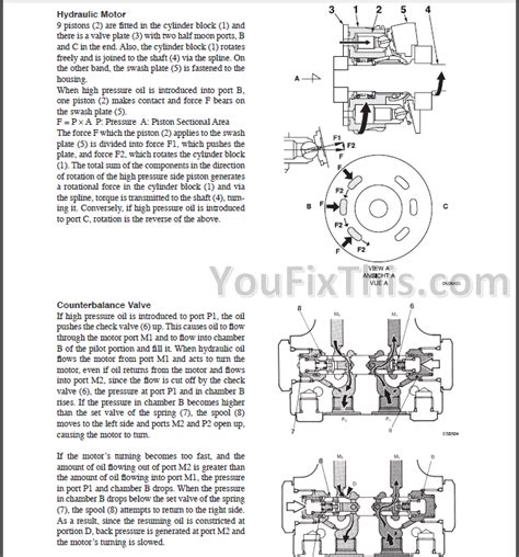 takeuchi tb216 repair manual mini excavator 216100002
