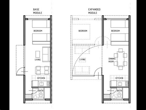 shipping container house technical plans