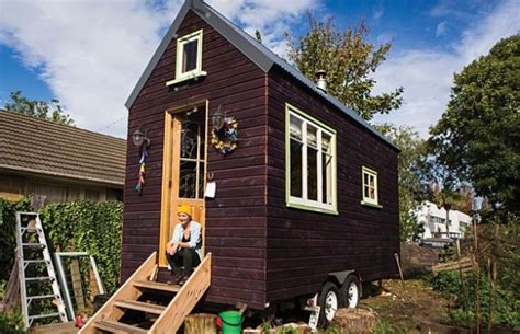 Small Homes New Zealand S 150 Sq Ft Tiny House On Wheels In New Zealand